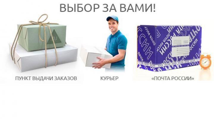 О заказах и доставке